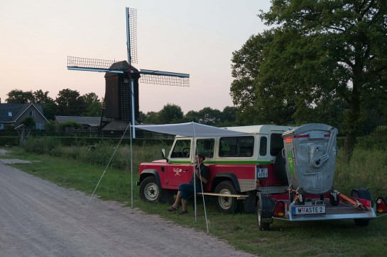 David Gross in den Niederlanden.
